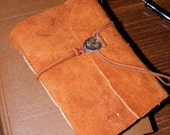 The Time Traveller's Companion/Steampunk Long Stitch Hand Bound Leather Field Journal