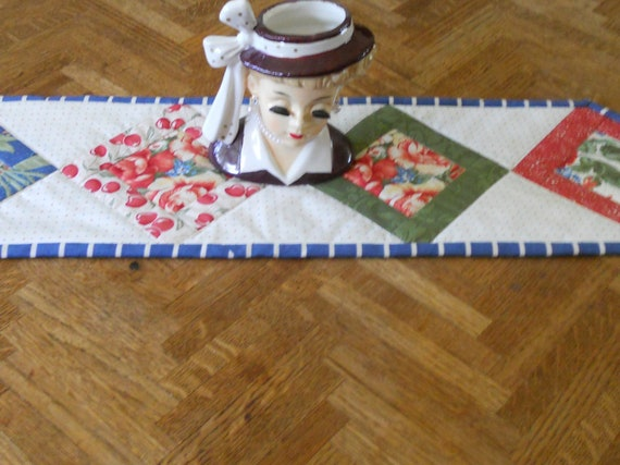 Patchwork Mini Table Topper Candle Mat