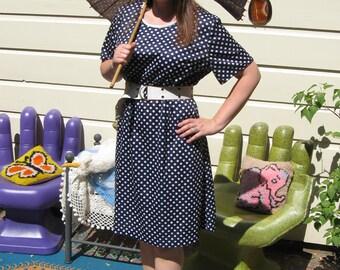 60s XL Dots Enough Dress