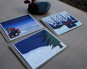 Collage Holiday Card Set
