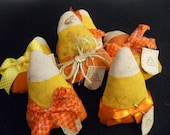 Halloween Candy Corn Set of 3