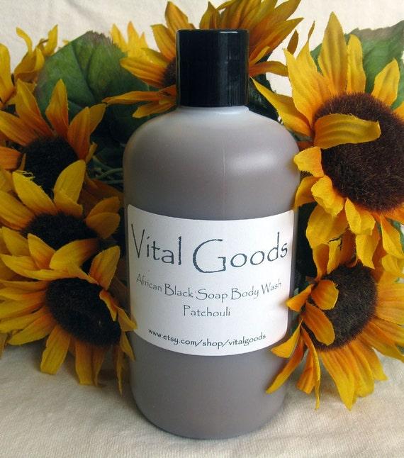 Patchouli Black Soap Body Wash