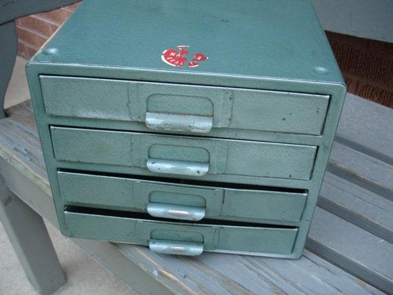 Wow- very cool vintage metal storage cabinet