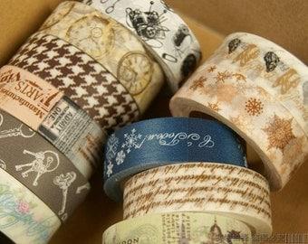 11 Rolls Japanese Washi Tape Masking Tape decoration Tape 10m