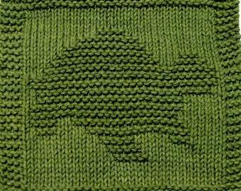 Knitting Cloth Pattern - TURTLE -2 - PDF
