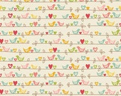 Sweetest Bird Cream Riley Blake Fabrics 1 Yard - chitchatfabrics