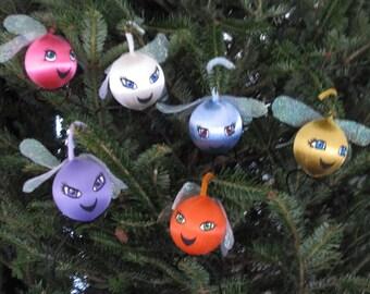 Mane 6 My Little Pony Parasprite Ornaments