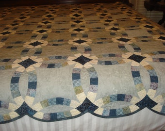 Traditional Wedding Ring Quilt