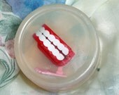 Get your very own wind up Chatter Teeth set in soap