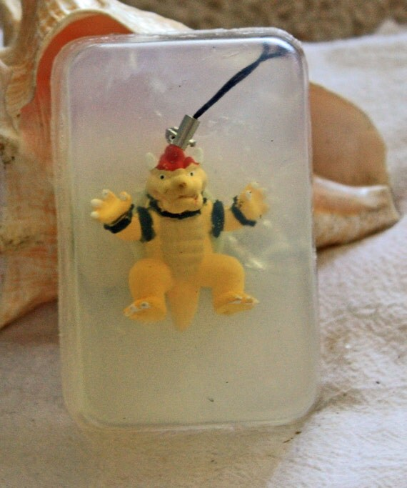 Bowser Toy Figure from Super Mario Brothers in Soap    Ship 4 for 5