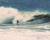 Beach Photo - Cool Summer - Surfing Photography 8x12 California surf photo on metallic paper