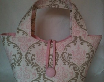 Doll Diaper Bag - Madison Baby Pink