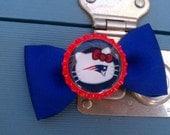 Hello Kitty New England Patriots Hair Bow
