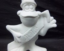 July Frog is ready for you to paint it at home.