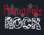 Principals Rock shirt School Staff shirt Principal gift Teacher Shirt School Shirt Principal Shirt Teacher Clothing