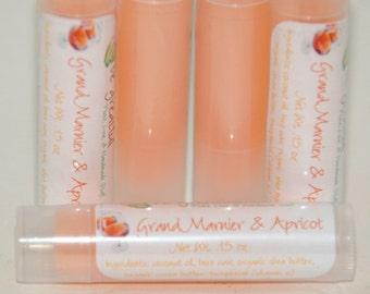 Grand Marnier and Apricot Lip Balm