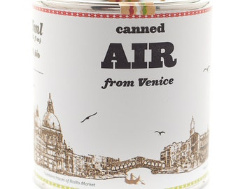 Original Canned Air From Venice, gag souvenir, gift, memorabilia
