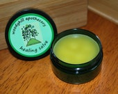 Woodyhill Apothecary All Purpose Healing Salve 2 oz  VEGAN great for cuts, bruises, sores, eczema