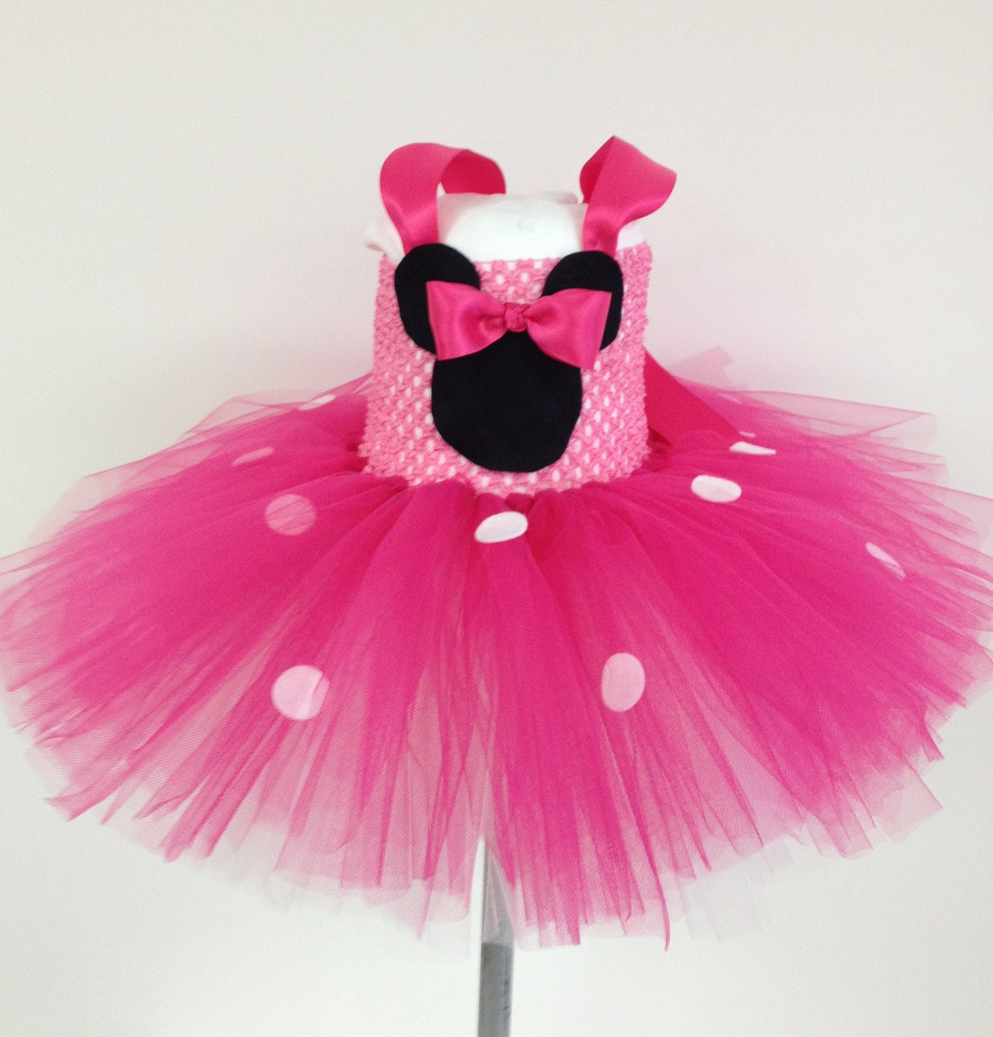 Tutus Tutu: Minnie Mouse Tutu Dress Pink White Tutu For By