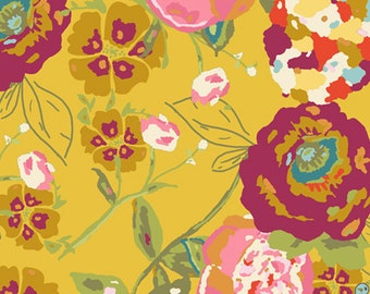 Garden Rocket Ruby  (LB-2100) - Lilly Belle - Bari J for Art Gallery Fabrics - By the Yard