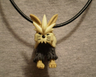 Pokemon Stoutland Leather Necklace