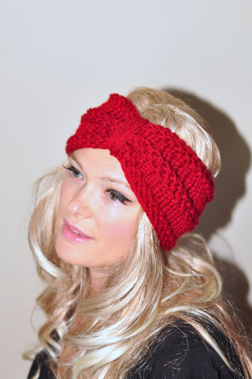 Turban Headband Crochet Head Wrap Knit Ear Warmer Earwarmer