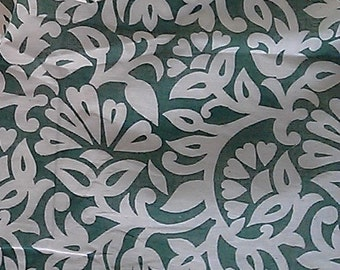 Indian Chanderi Cotton Fabric - One yard