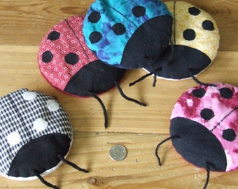 Boo-Boo Bug Ladybug hot cold Therapy pack PDF PATTERN email or snail mail
