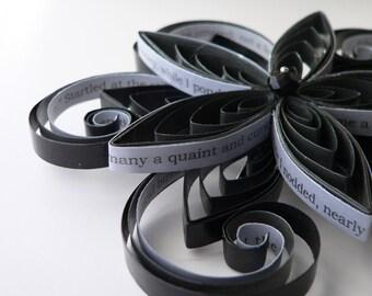 Noir Hair Accessories, Edgar Allan Poe Raven, Noir Wedding Hair Clip