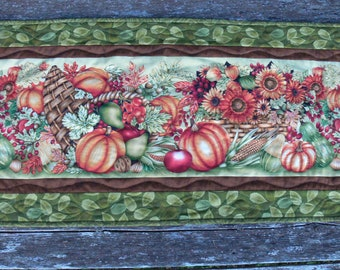 Give Thanks Fall Table Runner-Free Shipping in the USA