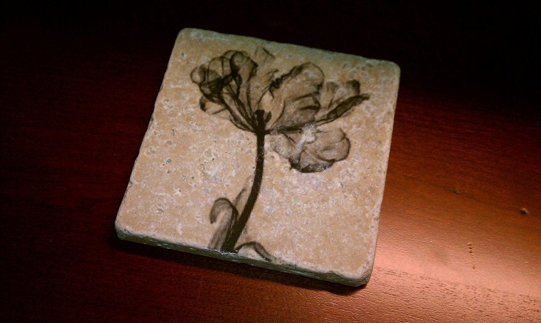 Tile Coasters Drink Coasters Natural Stone Coasters Sheer