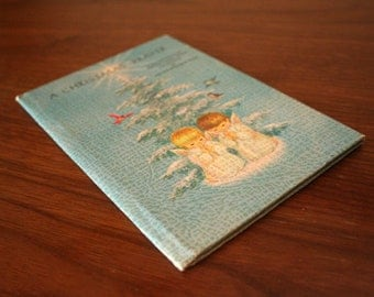 First Edition Copy of A Christmas Prayer by Helen Stiener Rice - 1971 - Gibson Greeting Cards - Vintage - Free Shipping