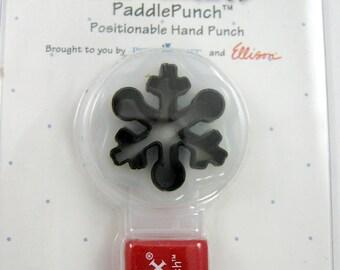Sizzix Paddle Punch Snowflake 38-0845