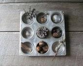 Vintage Muffin Tin Hi-Test Aluminum