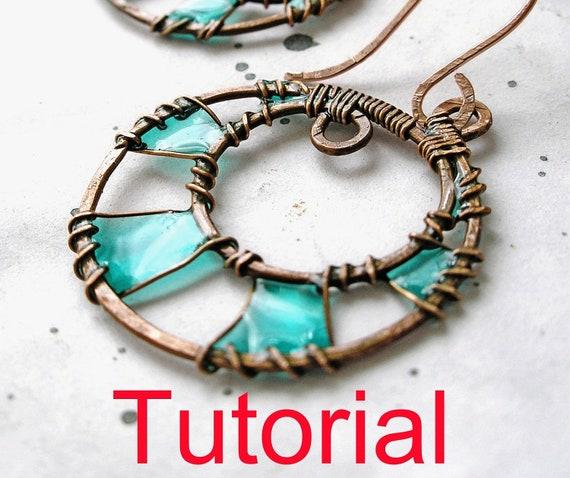 Tutorial : Earrings with resin
