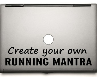 create your own  running sticker