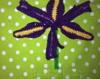 Iris Flower PDF Pattern