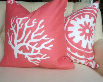 Pillow Cover Cushion Pick 2 your choice Coral Reef, Suzani, Gotcha