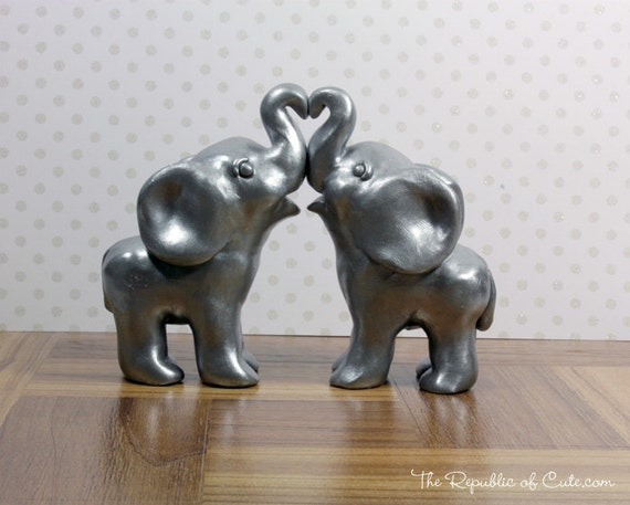 indian elephant wedding cake toppers silver indian elephant wedding cake toppers 16401