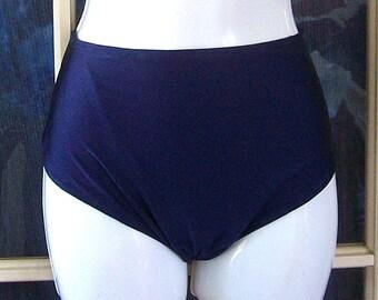 Retro cut High waisted bikini bottoms you choose color