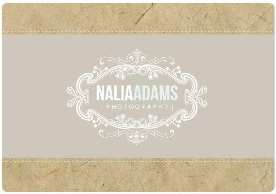 Custom Logo  -  PreDesigned PreMade Logo Design NALIA Vintage Logo