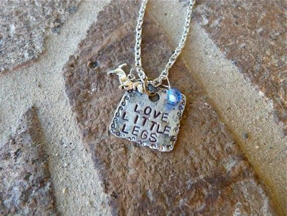 Love Little Legs, Doxie, Dachshund, Dog, Necklace