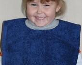 Blue Pullover Bib
