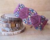 Maroon Gypsy Bracelet