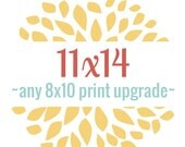 Print any 8x10 to 11x14 size - Purchase this in Addition to your 8x10 to Upgrade the Size to 11x14
