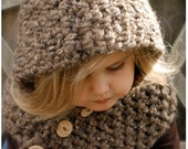 Crochet PATTERN-The Hampton Hood (Toddler, Child, Adult sizes)