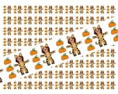 Halloween Print your own ribbon 7/8 inch - 300 DPI (RB123)