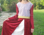Lucy's dress from Prince Caspian Chronicals Of Narnia.