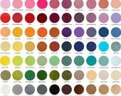 5 Sheets- 9x12- Designer Wool Felt- Choose any 5 colors