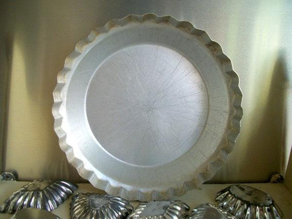 Vintage Collection of Swedish Tart Tins and a Pie/Tart Pan
